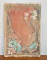 Cartel Antigua Art Nouveau Calendario 1914 Thiery & por lo Que - Avignon