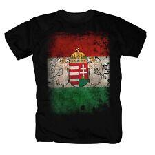 Ungarn Budapest Balaton Hungary Retro Flag T-Shirt S-4XL