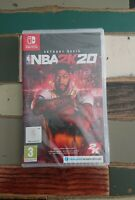 Jeu Nintendo Switch NBA 2k20 / Neuf sous blister / version Française 2020 Basket
