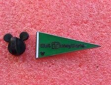 Pins DISNEY Fanion Drapeau Flag WALT DISNEY WORLD Vert