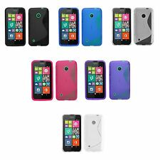 Nokia Glossy Silicone/Gel/Rubber Mobile Phone Cases, Covers & Skins