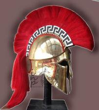 Medieval Greek Corinthian Armour Helmet Roman Knight Spartan Gladiator Helmet