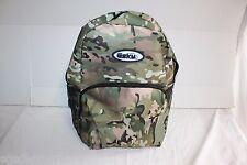 Multi Cam Green Brown Camo Backpack ESKY Brand 4 Pocket Hiking School Bag Style