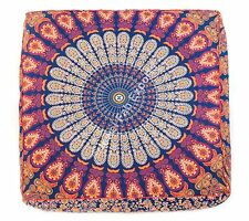 Mandala Large Dog Bed Pet Bed Floor Cover Baby Bed Bohemian Cushion Cover
