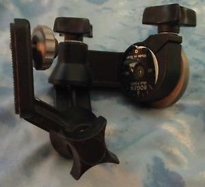 Bogen Model 3025 3 Way Pan Tilt Tripod Head Professional Camera Support