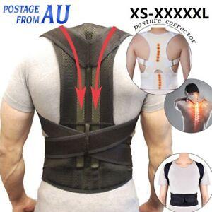 Posture Corrector Lumbar Lower Magnetic Back Support Shoulder Brace Belt Therapy
