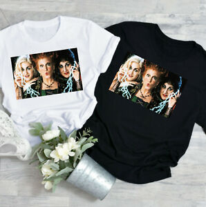 HOCUS POCUS Sanderson sisters Halloween T-shirt womens fashion witches