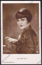 LYA DE PUTTI 08c ATTRICE ACTRESS CINEMA MUTO SILENT MOVIE STAR Cartolina FOTOGR.