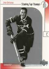 2001-02 UD Stanley Cup Champs #13 Jean Beliveau Montreal Canadiens (2018-0661)