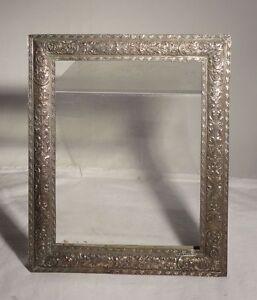 Antique Silverplate Renaissance Revival Barbour Silver Picture Frame Photograph