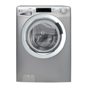 * Candy GVFW4128LWHCS-S-S Waschtrockner Alisé 12/8kg WiFi fähig 1400U/min Silber