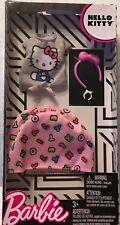 Barbie Hello Kitty Skirt Set, Headband, Bracelet Nrfp