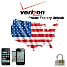 VERIZON Unlock Service Code iPhone 4S 5 5C 5S 6 6+ 7 7+ 8 8 + X FAST GUARANTEED