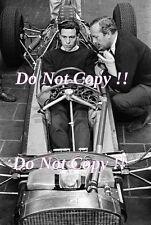 Jim Clark & Colin Chapman Lotus F1 Portrait 1962 Photograph