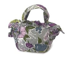 Vera Bradley Little Princess Purse Water Color Print Retired Magnetic Close Girl