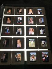 Original 20 35mm Slide Lot Angelica Bridges Baywatch SEXY! VINTAGE RARE!