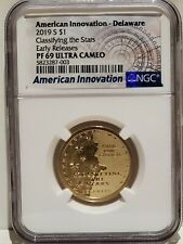2019 S $1 NGC PF69UC Delaware Classifying the Stars American Innovation