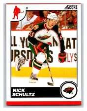 (HCW) 2010-11 Score Glossy #257 Nick Schultz Wild Mint