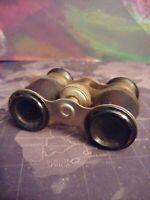 Vintage Opera Glasses Black Binoculars Made In Occupied Japan
