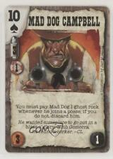 1998 Deadlands Doomtown CCG - Revelations Mad Dog Campbell #MDCA rs0