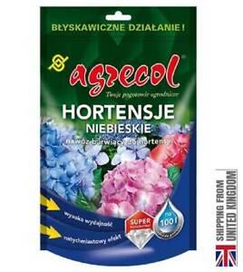 Blue Hydrangea, Hydrangea Colored Fertilizer, Soluble in Water. 250g