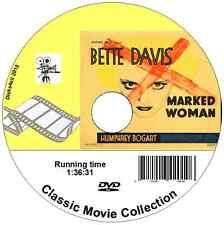Marked Woman (1937) Bette Davis, Humphrey Bogart DVD Film Thriller