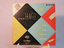 45 RPM  DANCE THE TANGO  B-1751 by Geraldo & Merek Weber