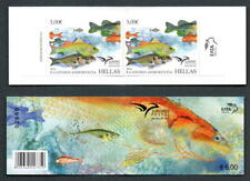 Greece EUROMED 2016 Fish of the Mediterranean BOOKLET 2 sets of Greek MNH stamps