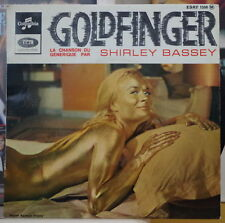 SHIRLEY BASSEY GOLDFINGER OST FRENCH EP DISQUES COLUMBIA  196