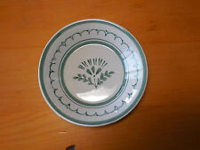 Arabia Finland GREEN THISTLE Set of 3 Fruit Sauce Bowls 5 in