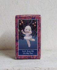 New ListingNew 1992 Enesco Precious Moments Ornament | Ballerina Lord Keep Me On My Toes-B