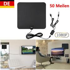DVB-T/T2 Antenne Zimmerantenne 50 Meilen mit Verstärker HDTV 1080p Fernseher DE
