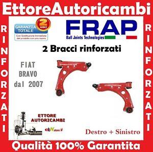 2 BRACCI OSCILLANTI INFERIORI FRAP FIAT BRAVO (198) DELTA 07> TRAPEZI RINFORZATI