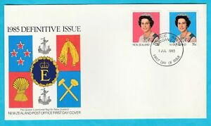 NZ New Zealand QEII Queen Elizabeth II Definitive Issue First Day Cover 1985