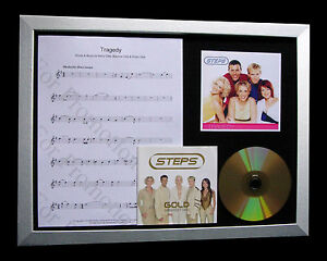 STEPS Tragedy LIMITED GALLERY QUALITY CD FRAMED DISPLAY+EXPRESS GLOBAL SHIPPING