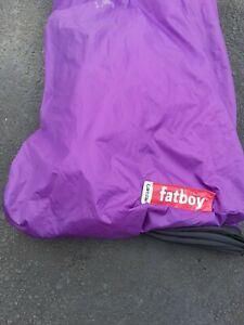 Fatboy Lamzac The Original Inflatable Air Lounger and Purple  no carry bag