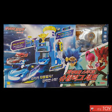 Power Battle Watch Car STADIUM SHOOTING LEAGUE SET Ultra Bluewill Coin-Battle