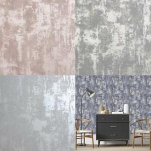 Arthouse Stone Textures Metallic Wallpaper 4 Colours