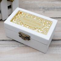 Custom Wedding Ring Box Personalised Wooden Ring Bearer Box Wedding Ring Holder