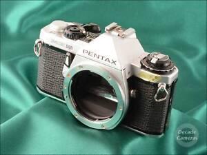 Pentax ME Super 35mm Film Camera inc Case & Camera Manual - VGC- 499