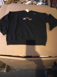 New NFL SUPER BOWL XLI Sweatshirt Black Stadium Bears Colts Msrp $55 L