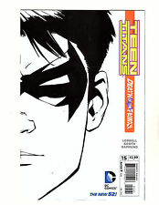 Teen Titans #15 (2013, Dc) Fn/Vf New 52 Death of the Family 1:25 Sketch Variant