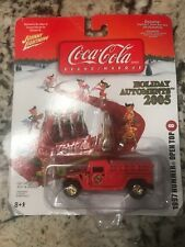 1997 HUMMER OPEN TOP     2005 JOHNNY LIGHTNING COCA-COLA HOLIDAY AUTOMENTS  1:64