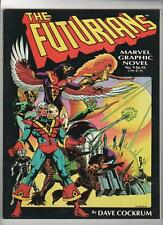 Marvel Graphic Novel no. 9 The Futurians Vf/Nm 9.0 064