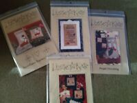 LIZZIE KATE COUNTED CROSS STITCH CHARTS  PATTERNS CHRISTMAS 🎄 OUT OF PRINT