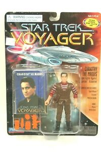 "NEW *Sealed* STAR TREK Voyager Playmates 5"" Figure CHAKOTAY as Maquis Orange"