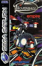 # Sega Saturn-Pro Pinball: The Web (dans NEUF dans sa boîte, mais avec usure normale) #