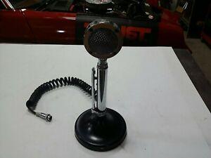 Vintage D-104 Astatic CB Microphone Chrome Lollipop