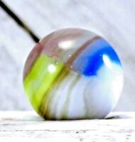 """Vintage Vitro Agate 4 Color Wet Mint  .60"""" Marble  #279"""
