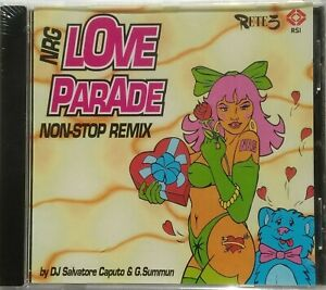 CD NRG LOVE PARADE - NON STOP REMIX